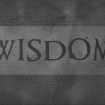 Do You Really Need Wisdom?