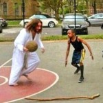 Is Jesus a Footballer?