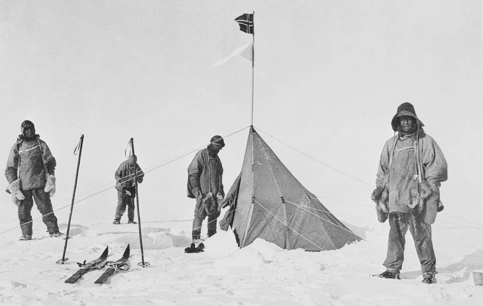 British Antarctica expedition beaten to the South Pole in 1912,